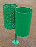 Odpadkový kôš - oceľ MM700175