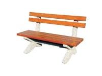 Parková lavička - betón-drevo MM800289