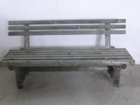 Parková lavička - drevo MM700090