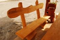 Parková lavička - drevo MM700240