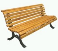 Parková lavička - liatina-drevo MM700213