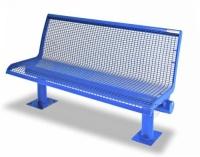 Parková lavička - oceľ MM700221
