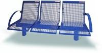 Parková lavička - oceľ MM700222