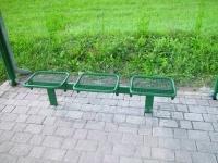 Parková lavička - oceľ MM700224