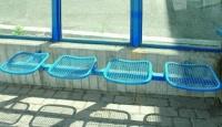 Parková lavička - oceľ MM700225