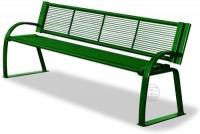 Parková lavička - oceľ MM700228