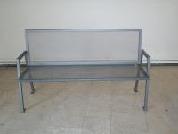Parková lavička - oceľ MM700271