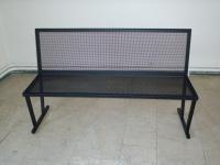 Parková lavička - oceľ MM700272
