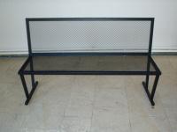 Parková lavička - oceľ MM700273