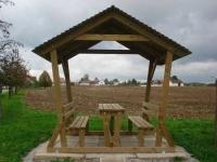 Piknikový stôl - drevo MM700108