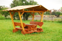 Piknikový stôl - drevo MM700241