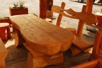 Piknikový stôl - drevo MM700243