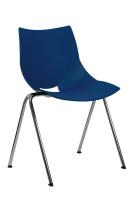 Plastová jedálenská stolička SN100224