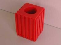 Plastové lôžko CNC nástroje CAPTO4