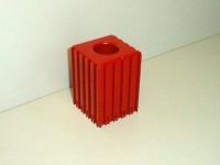 Plastové lôžko CNC nástroje HSK32