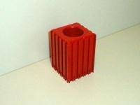Plastové lôžko CNC nástroje HSK40
