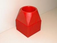 Plastové lôžko CNC nástroje ISO50