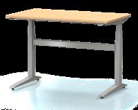 Dielenský stôl s nastaviteľnou výškou, šírka 1200 mm