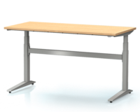 Dielenský stôl s nastaviteľnou výškou, šírka 1500 mm