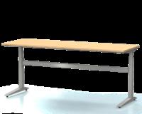 Dielenský stôl s nastaviteľnou výškou, šírka 2000 mm