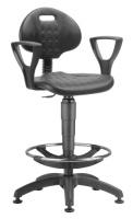 Priemyselné stoličky 1290 PU NOR 3159