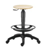 Priemyselné stoličky - taburety 1290 L TABURET 9050