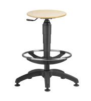 Priemyselné stoličky - taburety 1290 L TABURET 9059
