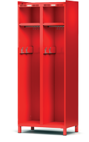 Šatní skříň pro hasiče H1OF 40 2 A