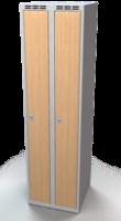 Šatníková skrinka - lamino dvere AM 25 2 1 S DD
