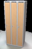 Šatníková skrinka - lamino dvere AM 25 3 1 S DD