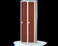 Šatníková skrinka - lamino dvere AM 30 2 1 S DD AK