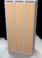Šatníková skrinka - lamino dvere AM 30 3 1 S DD