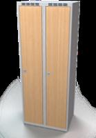 Šatníková skriňa - lamino dvere AM 35 2 1 S DD