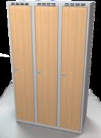 Šatníková skriňa - lamino dvere AM 35 3 1 S DD