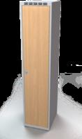 Šatníková skrinka - lamino dvere AM 40 1 1 S DD