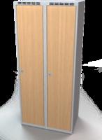 Šatníková skrinka - lamino dvere AM 40 2 1 S DD