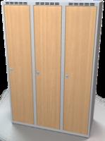 Šatníková skrinka - lamino dvere AM 40 3 1 S DD