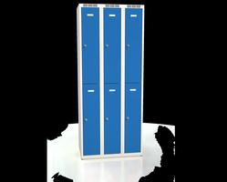 Šatní boxy - dvouplášťové dveře A2M 25 3 2 A