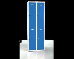 Šatní boxy - dvouplášťové dveře A2M 30 2 2 A