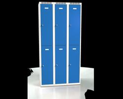 Šatní boxy - dvouplášťové dveře A2M 30 3 2 A