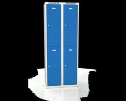 Šatní boxy - dvouplášťové dveře A2M 35 2 2 A