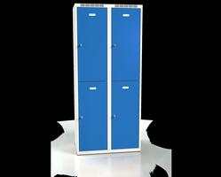 Šatní boxy - jednoplášťové dveře L2M 40 2 2 A