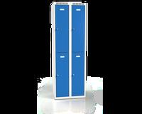 Šatníková skrinka Alsin delená - jednoplášťové dvere, šírka / počet oddelenia: 300 mm / 2