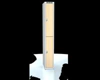 Šatní boxy - lamino dveře D3M 25 1 2 A