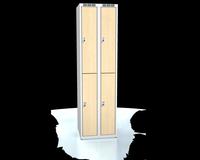 Šatní boxy - lamino dveře D3M 25 2 2 A