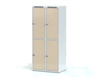 Šatní boxy - lamino dveře D3M 40 2 2 A