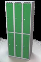 Zesílené šatní boxy - dvouplášťové dveře R3M 25 3 2 A