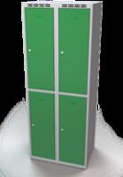 Zesílené šatní boxy - dvouplášťové dveře R3M 35 2 2 A