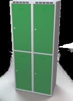 Zesílené šatní boxy - dvouplášťové dveře R3M 40 2 2 A