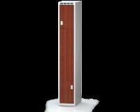 Šatňové skrinky - dvere tvaru Z, lamino AM 30 1 Z S DD